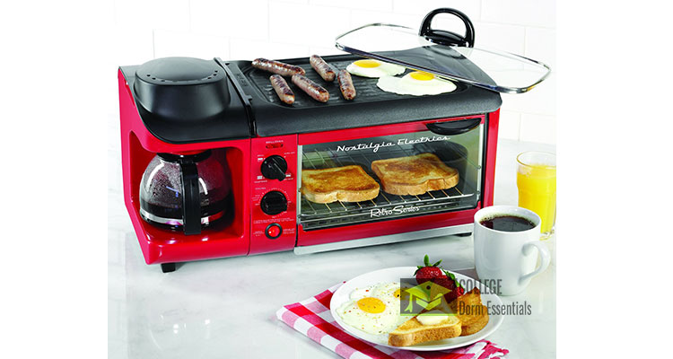 Grill Toaster Oven Coffee Maker Combo : 3 in 1 Toaster Oven, Coffee Maker, Griddle Breakfast Station