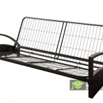 Full Sized Futon Frame with Arm Rest