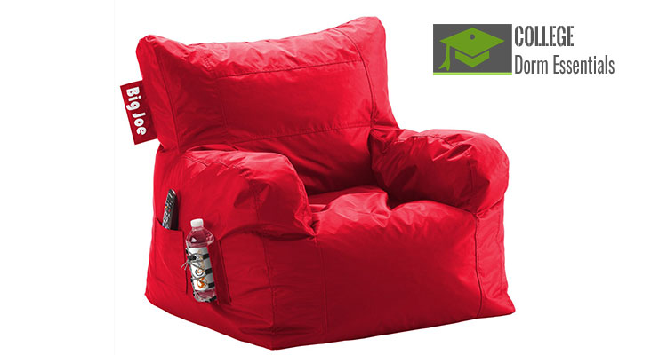 Comfy Dorm Beanbag Chair with Pockets  sc 1 st  College Dorm Essentials & Comfy Beanbag Dorm Chair with Pockets