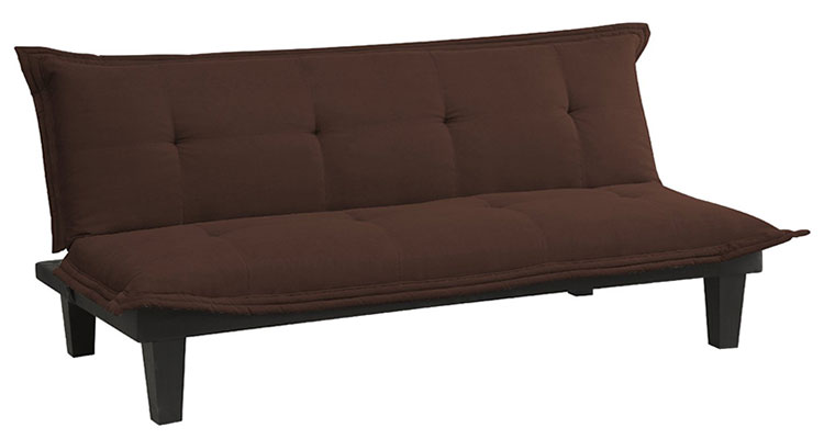 Microfiber College Futon with FREE Shipping ⋆ College Dorm