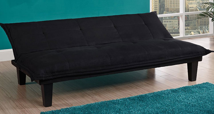 Microfiber College Futon With Free Shipping