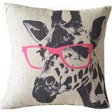 giraffe - Dorm Decor throw pillows