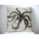 octopus - Dorm Decor throw pillows