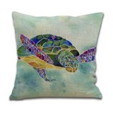 turtle - Dorm Decor throw pillows