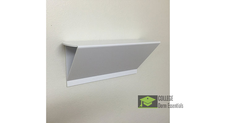 No Damage Dorm Room Wall Shelf ⋆ College Dorm Essentials