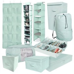 Ultimate Dorm Organization Set - 10Pcs