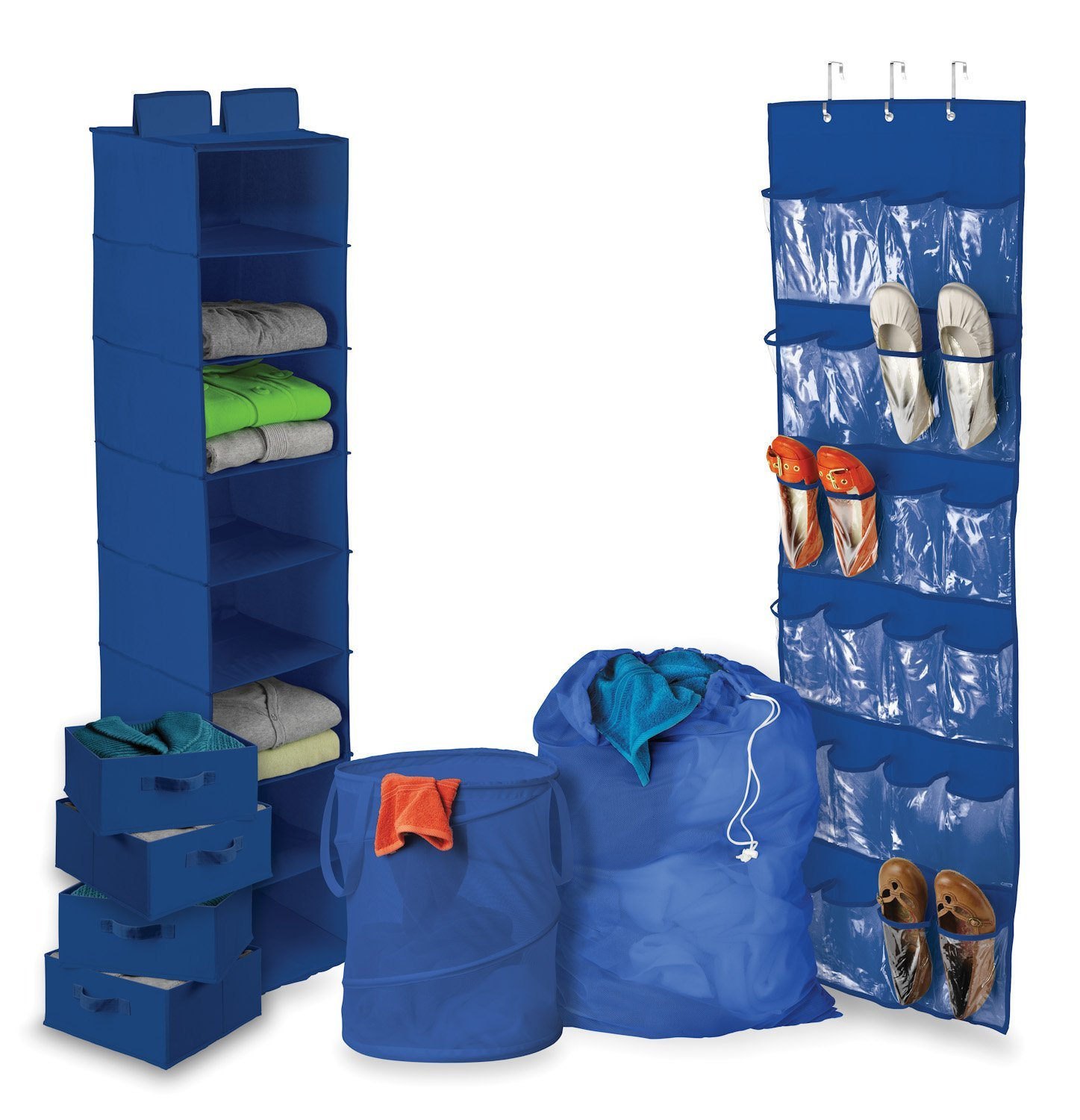 Virtual Dorm Room Design: 8 Piece Ultimate Dorm Organization Set By Honey-Can-Do