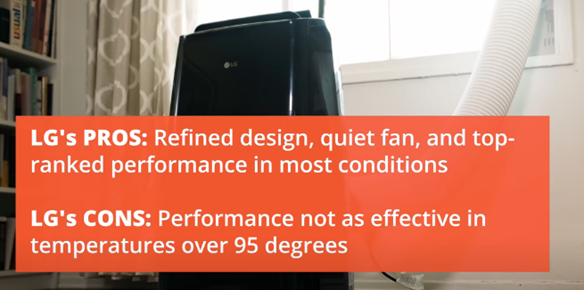 Best Portable Air Conditioner of 2020-LG AC