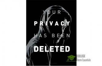 """Mr. Robot Poster – """"Your Privacy has been Deleted"""" [18 x 24]"""