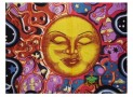 Psychedelic Celestial Tapestry Hippie Decor