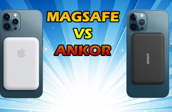 Apple Magsafe Portable Charger vs Anker Magnetic Wireless 5K Comparison Review