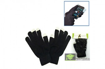 Fingertip-less Gloves for Smartphones